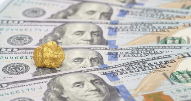 gold prices us dollar